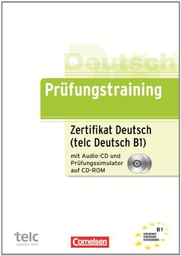 Prufungstraining Daf B1 Zertifikat Deutsch Telc Deutsch Ubungsbuch Mit Cd Und Cd Rom Dieter Maenner Lesen Isganesupp