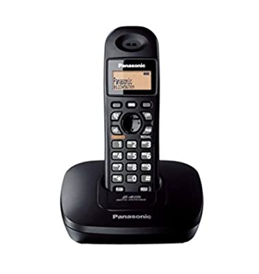 Panasonic Single Line 2.4GHz KX-TG3611SXB Digital Cordless Telephone