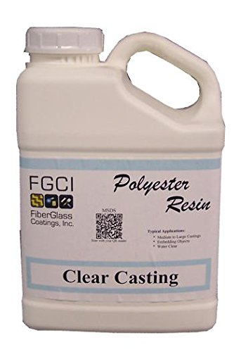 Clear Casting Polyester Resin, 1 Gallon (Polyester Casting Resin compare prices)