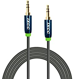 iXCC 10Ft Extra Long Male to Male 3.5mm Universal Aux Audio Stereo Cable for All 3.5mm-Enabled Devices