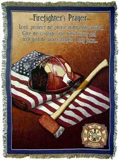 Fireman S Prayer Throw Blanket Findgift Com