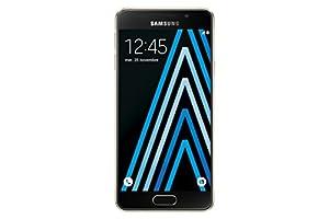 Samsung Galaxy A3 Smartphone débloqué 4G (Ecran: 4,7 pouces - 16 Go - Simple Nano-SIM - Android 5.1 Lollipop) Or