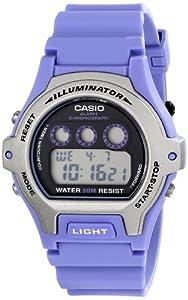 Casio Unisex LW202H-6AVCF Classic Purple Dial Watch