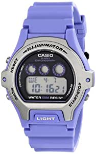 Casio Unisex LW202H-6AVCF Classic Purple Dial Watch