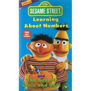 sesame street learning about numbers vhs sesame street