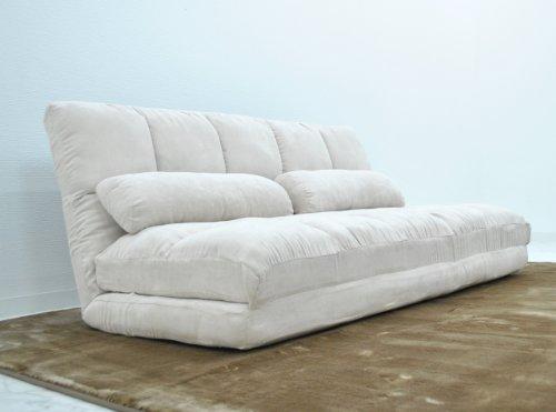 (DORIS)3way sofa 【リーフ アイボリー】 ソファ(dzs)