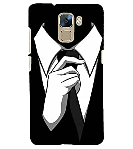 PRINTSHOPPII TIE MAN Back Case Cover for Huawei Honor 7