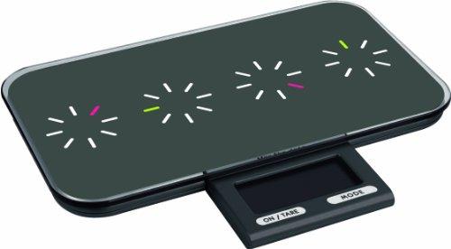 Zak Designs 88-444TB Balance de Cuisine Électronique Tic Tac Noir