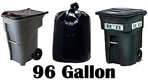 Amazon Com 96 Gallon Super Big Mouth Trash Bags 3 Pack