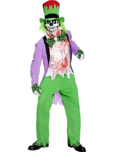 Evil clown costume for adult - L