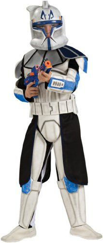 Star Wars Animated Deluxe Clone Trooper Leader Rex Child Costume - Kid's Costumes