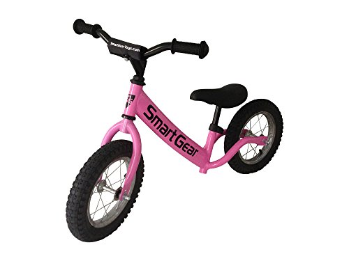 Smart-Gear-My-First-Smart-Balance-Bike-Ultra-Lightweight-Frame-Kids-Bike-AIR-Bubblegum-Pink-12-Pneumatic-Tires