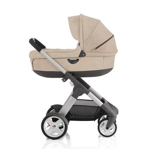 Stokke Crusi Stroller - Beige Melange front-825841