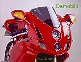 Puig 0955H Racing Screen for Ducati 916S/ 996/ 998/ 748, Smoke, Medium