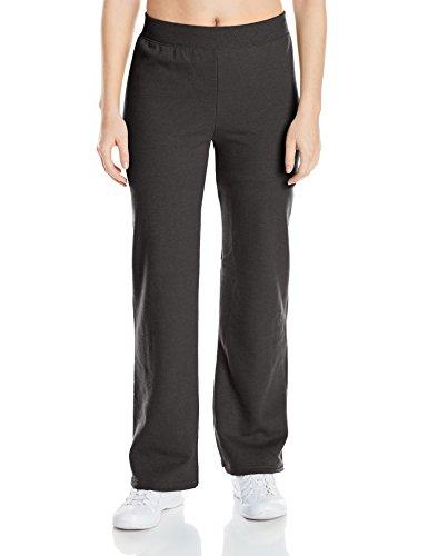 hanes-womens-middle-rise-sweatpant-ebony-small