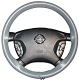 1980, 1981, 1982, 1983, 1984, 1985,1986, 1987 Chevrolet Chevette : Wheelskins Leather Steering Wheel Cover : Brown