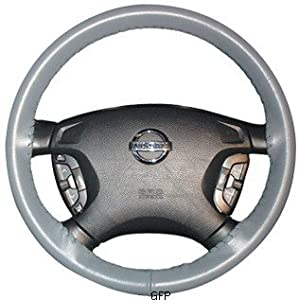 2002, 2002, 2003, 2004, 2005 Honda Civic : Wheelskins Leather Steering Wheel Cover : Yellow