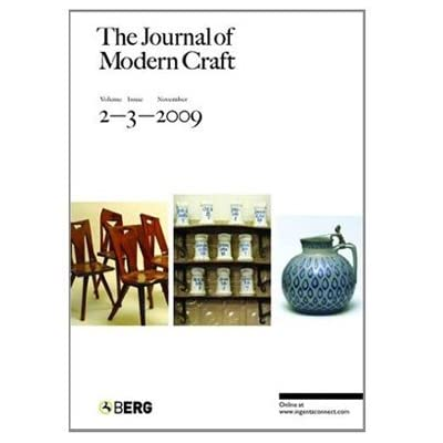 The Journal of Modern Craft (Paperback)