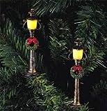 Kurt Adler 10-Light Antique Colonial Street Lamp Light Set