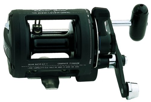 Shimano TR1000LD Charter Special Salt Water Reel Levelwind with 12/390, 14/330 and 17/250 Line Capacity