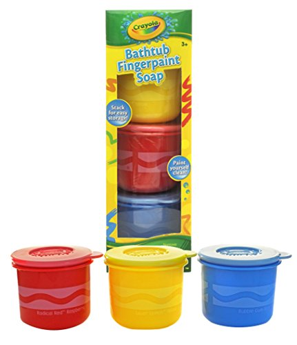 Crayola Bathtub Fingerpaint Soap by Play Visions