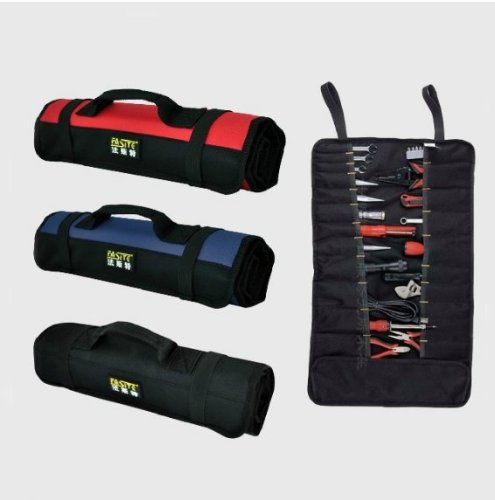 KIVEN-Nylon-Multi-Purpose-red-blackblue-mechanics-tool-set-22-Pocket-Socket-hand-tool-sets-electrical-rolling-tool-bags-pouch-Bag-Carrier-protection-tool-wear-waterproof-for-Sets-color-by-random