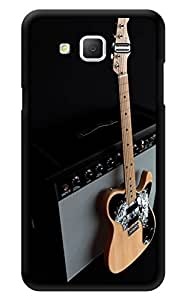 """Humor Gang Guitar And Amplifier Printed Designer Mobile Back Cover For """"Samsung Galaxy j2"""" (3D, Glossy, Premium Quality Snap On Case)"""