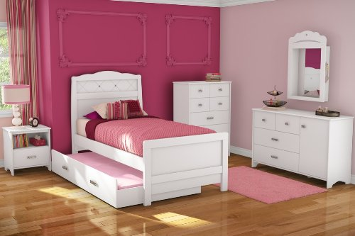 Cheap Kids Bedroom Furniture Set 1 – Tiara – South Shore Furniture – 3650-BSET-1 (3650-BSET-1)