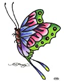 417GbJT3VmL. SL160  Ed Hardy Butterfly Temporary Body Art Tattoos 3