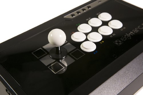 Eightarc Fusion Ebony Ps3 & Xbox 360 & Pc Joystick (Fightstick)
