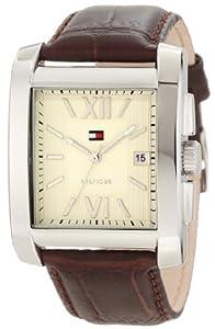 Tommy Hilfiger Men's 1710318 Classic Tank Roman Numeral Enamel Dial Watch