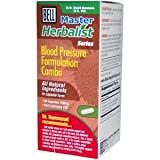 Bell Lifestyle, Master Herbalist Series, Blood Pressure Formulation Combo, 750 mg, 60 Capsules