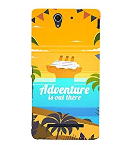 Adventure Is Out There 3D Hard Polycarbonate Designer Back Case Cover for Sony Xperia C3 Dual D2502 :: Sony Xperia C3 D2533