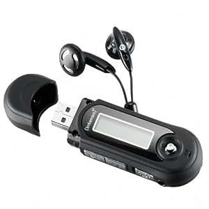 Intenso Music Walker Lecteur MP3 8 Go Noir
