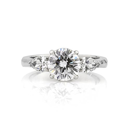 Mark Broumand 2.27Ct Round Brilliant Cut Diamond Engagement Ring