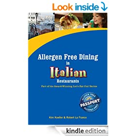 Allergen Free Dining in Italian Restaurants (Let's Eat Out Around The World)