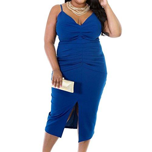 monroe-da-donna-taglie-s-cinghie-senza-maniche-elasticizzato-bodycon-party-dress-donna-blue-xl