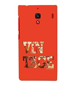 EPICCASE Vintage Mobile Back Case Cover For Xiaomi RedMi 1S (Designer Case)