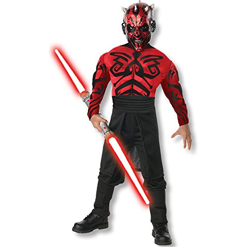 Darth Maul Muscle Chest Kids Costume