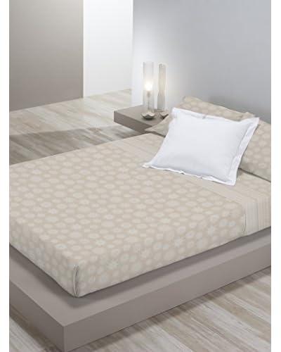 MANTEROL CASA Betttuch und Kissenbezug Luxe beige