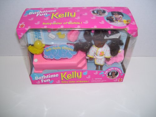 AA African American Bathtime Fun Kelly Doll