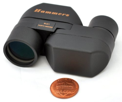 Hammers Mini Pocket Size Monocular Spotting Scope 8x21 Spy Glass