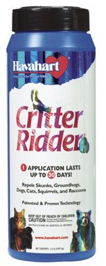 2 each: Critter Ridder Animal Repellent (3142)