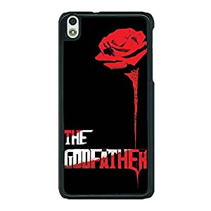 Jugaaduu The Godfather Back Cover Case For HTC Desire 816G