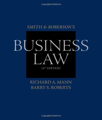 Smith and Roberson's Business Law (Smith & Roberson's...
