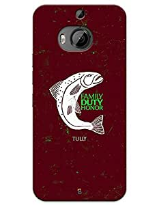 """Game of Thrones GOT """"Family Duty Honor"""" House Tully case for HTC Desire One M9+"""