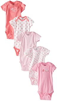 Gerber Baby-Girls Newborn 5 Pack Vari…