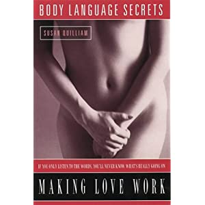 books: Body language secrets for Making Love Work: cover