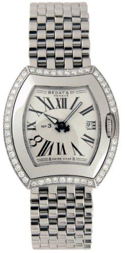 Bedat No. 3 Diamond Ladies Watch 334.041.101 - Buy Bedat No. 3 Diamond Ladies Watch 334.041.101 - Purchase Bedat No. 3 Diamond Ladies Watch 334.041.101 (Bedat, Jewelry, Categories, Watches, Women's Watches, By Movement, Swiss Quartz)