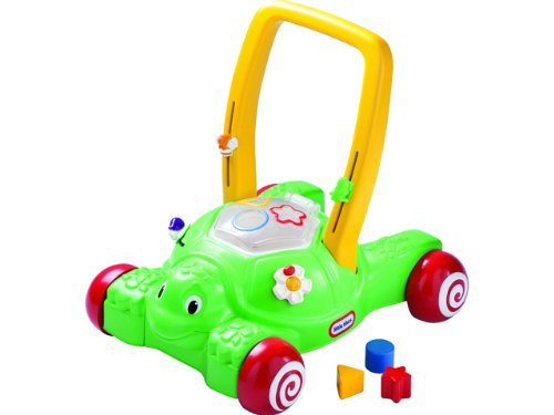 An Image of Little Tikes 2-in-1 Push 'n Play Turtle